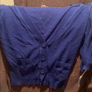 NWT short sleeve cardigan